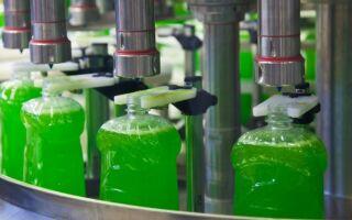 Как производители осуществляют розлив бытовой химии