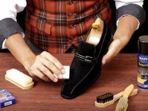 Как чистить обувь из нубука