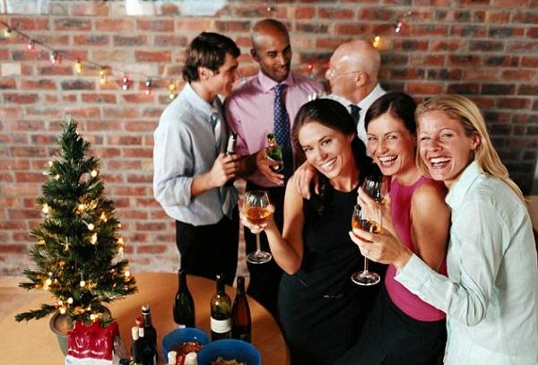 Встреча Нового года на работе