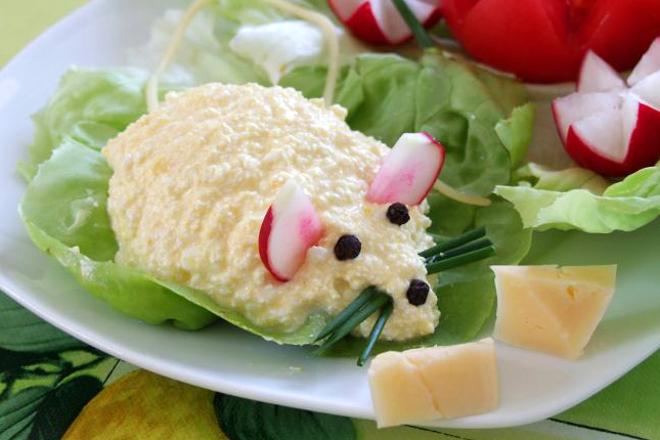 Мышки из адыгейского сыра